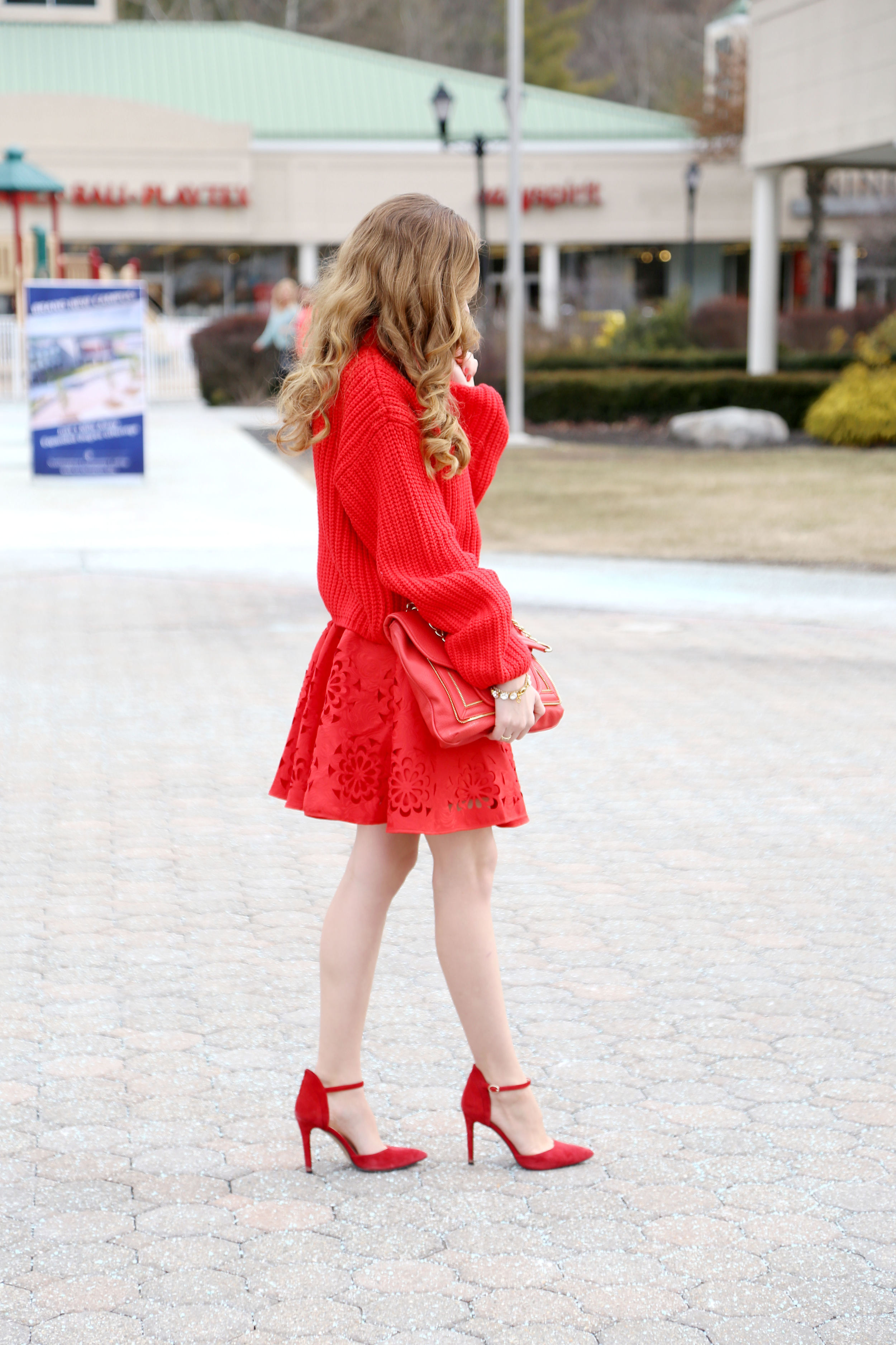 The Lady In Red- Enchanting Elegance