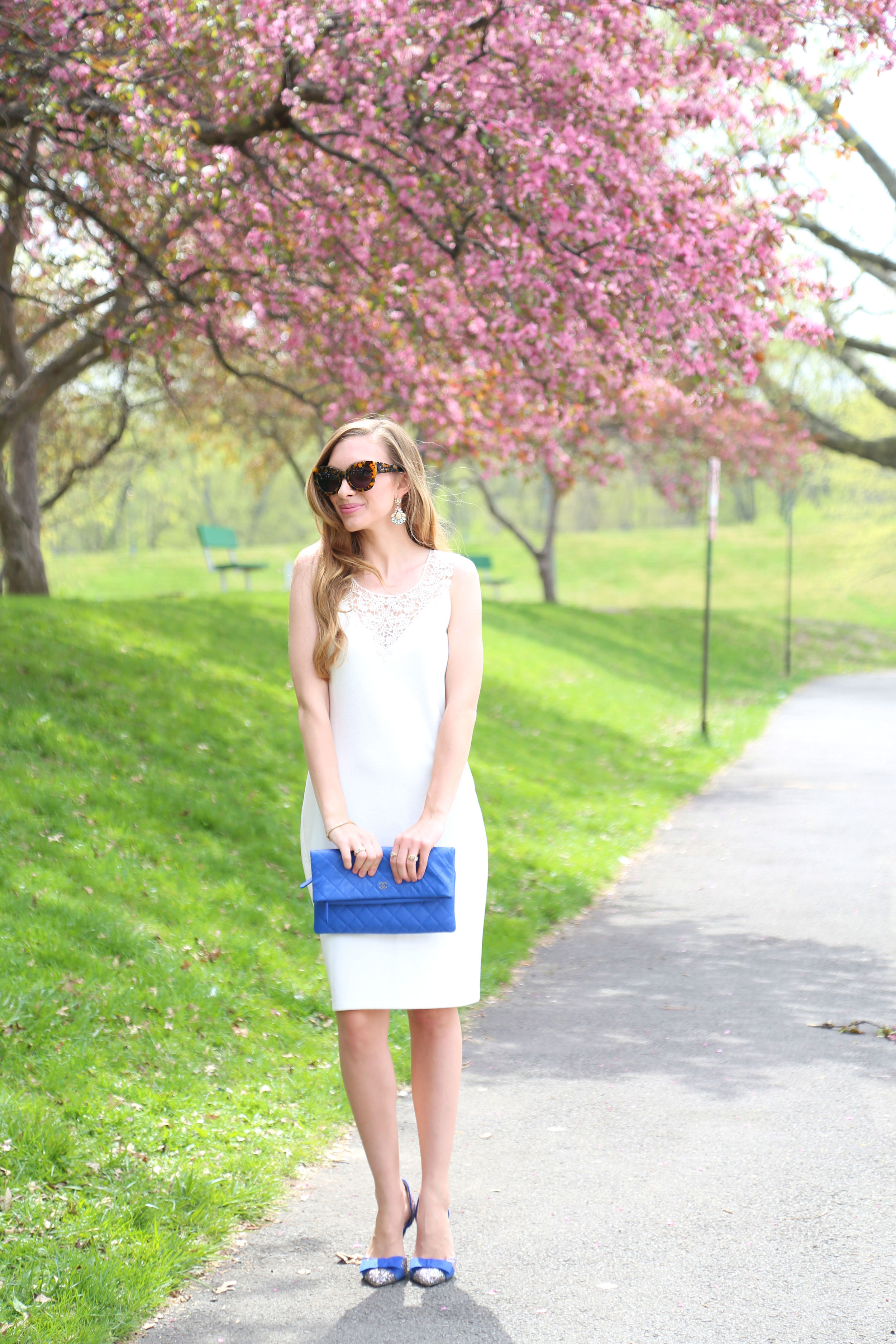 Little White Dresss + Chanel- Enchanting Elegance