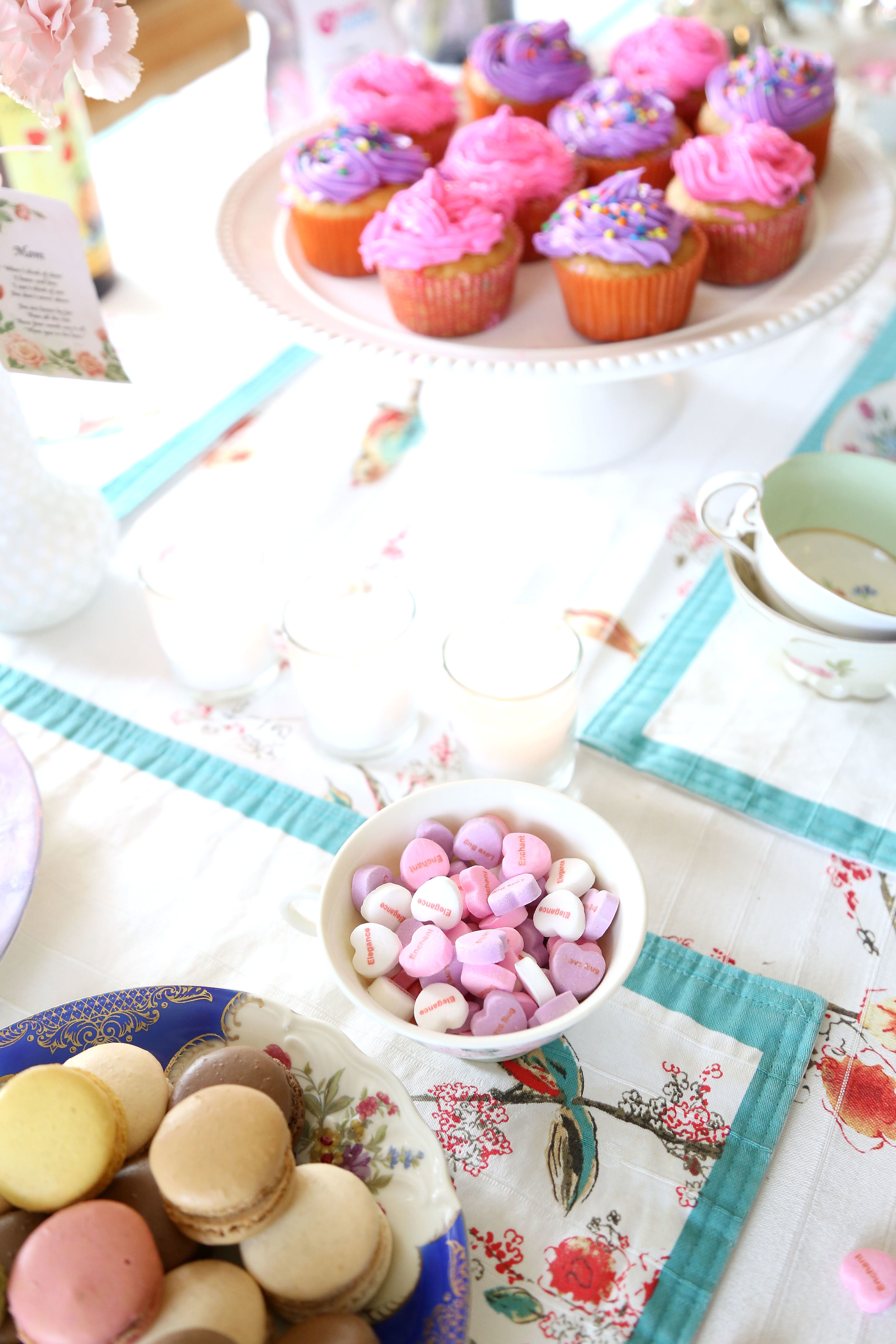 Tea Party with My Custom Candy- Enchanting Elegance