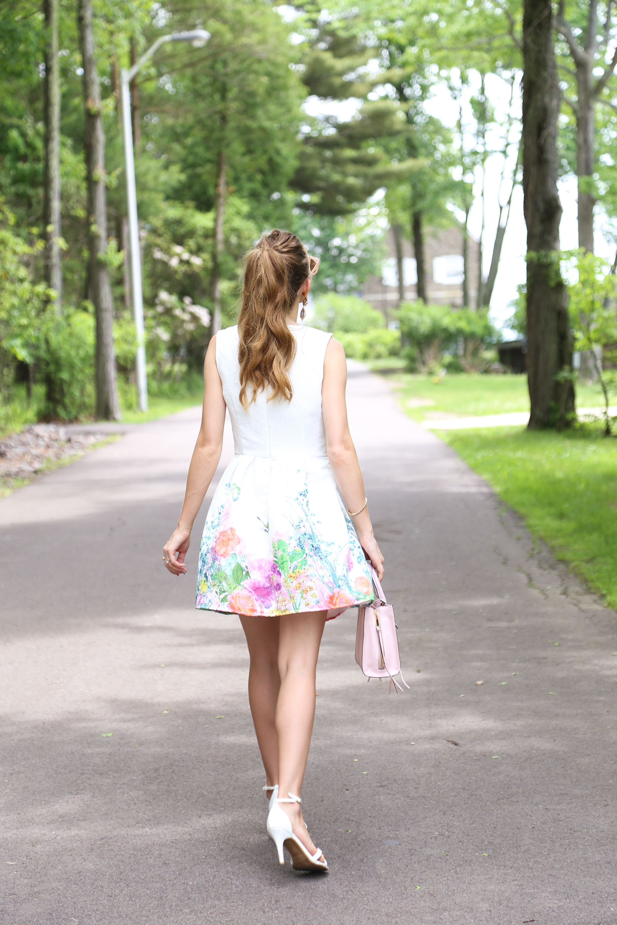 Floral Print Dress- Enchanting Elegance
