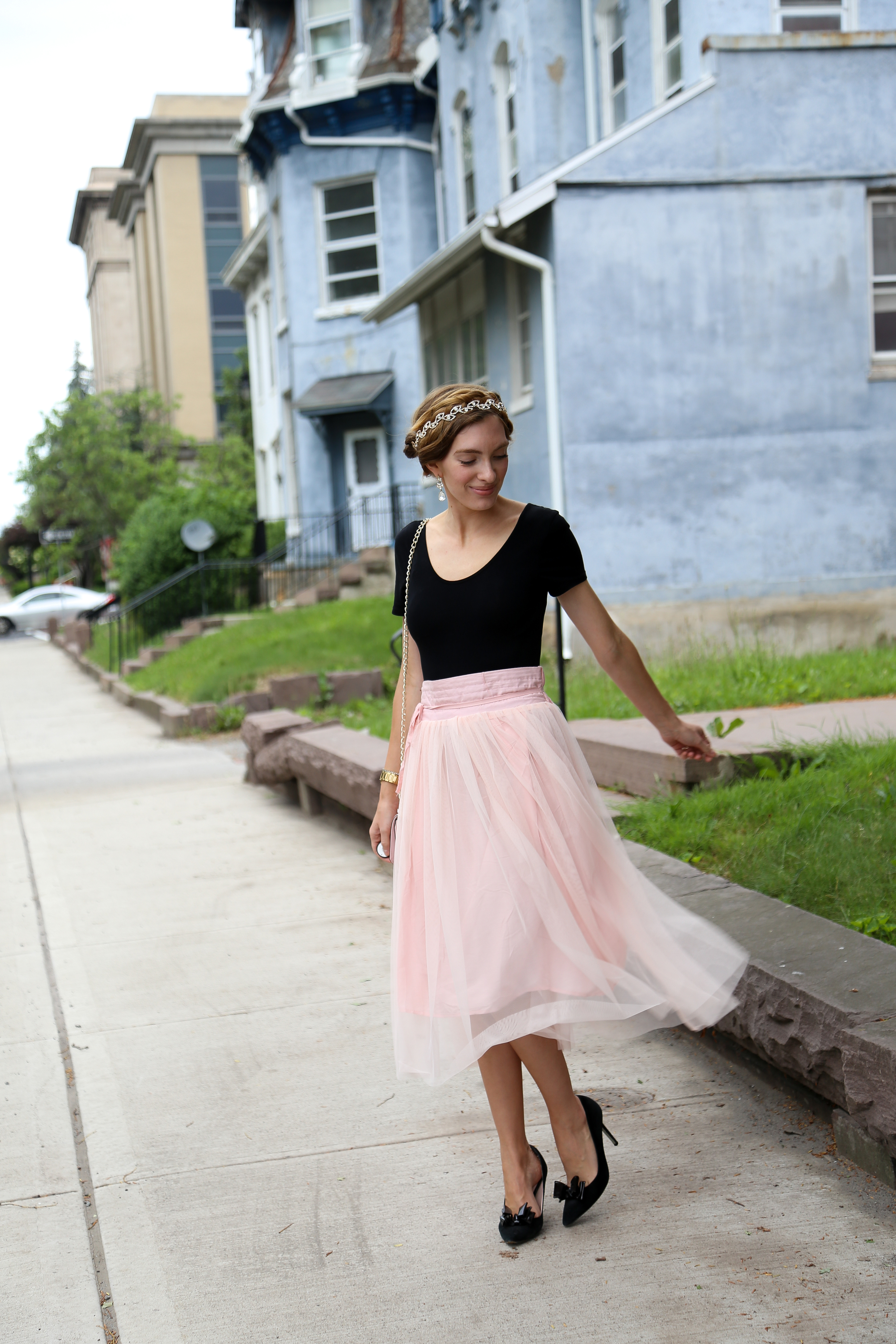Ballerina in the City- Enchanting Elegance