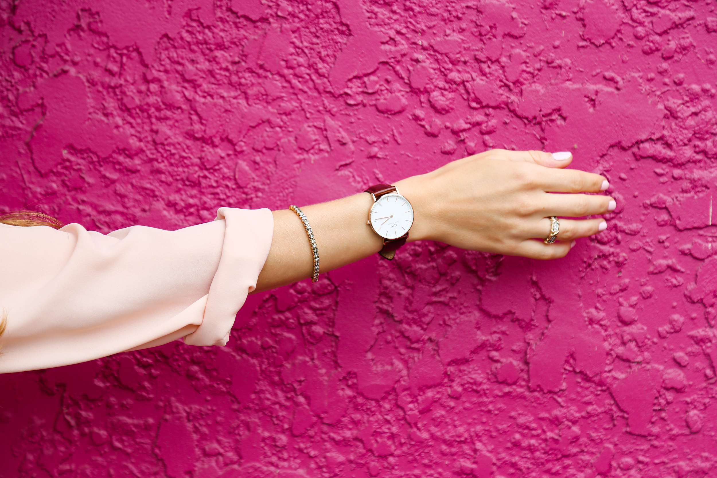 Classically Feminine with Daniel Wellington