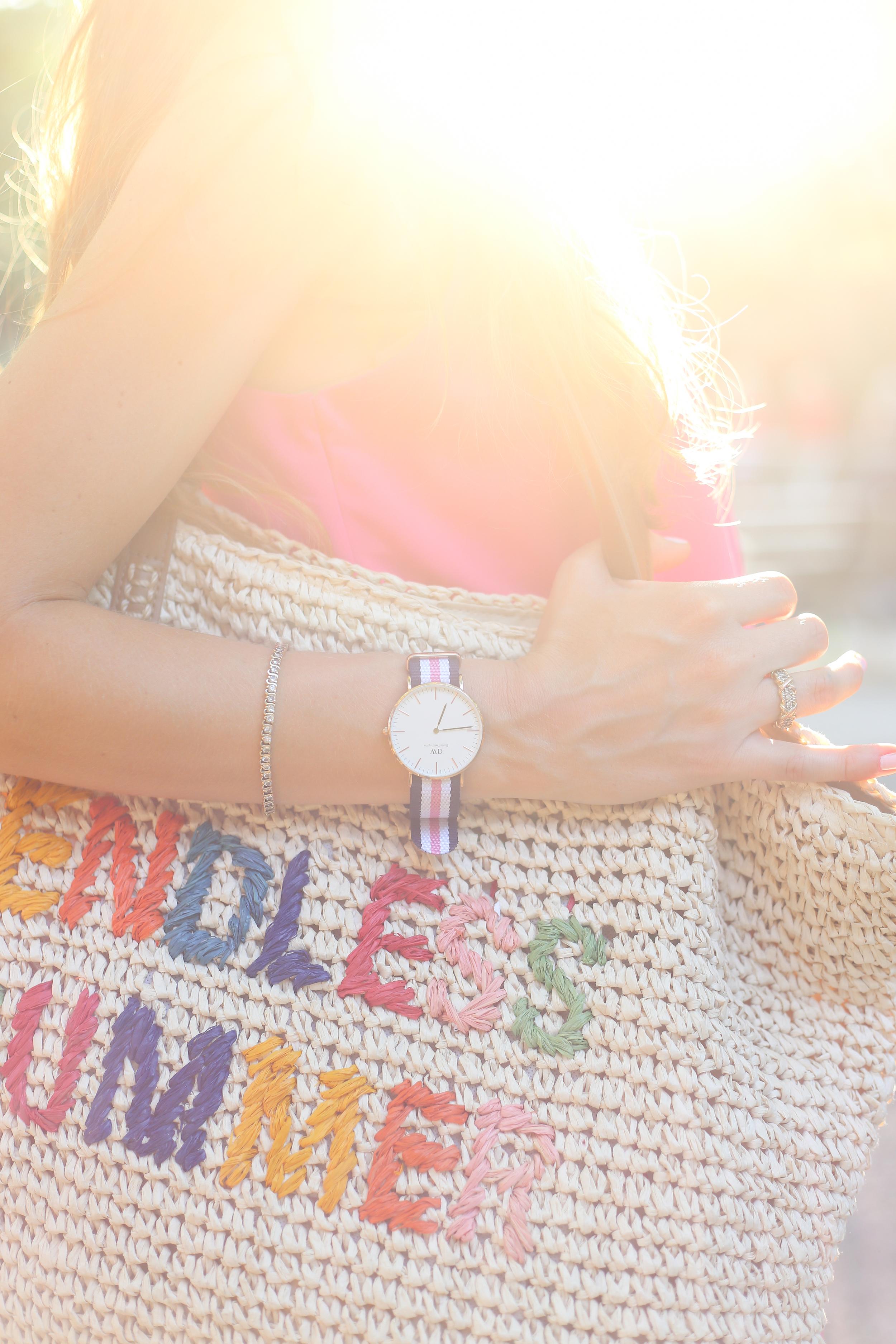 Pink + Colorful Tassels at Knoebels- Enchanting Elegance