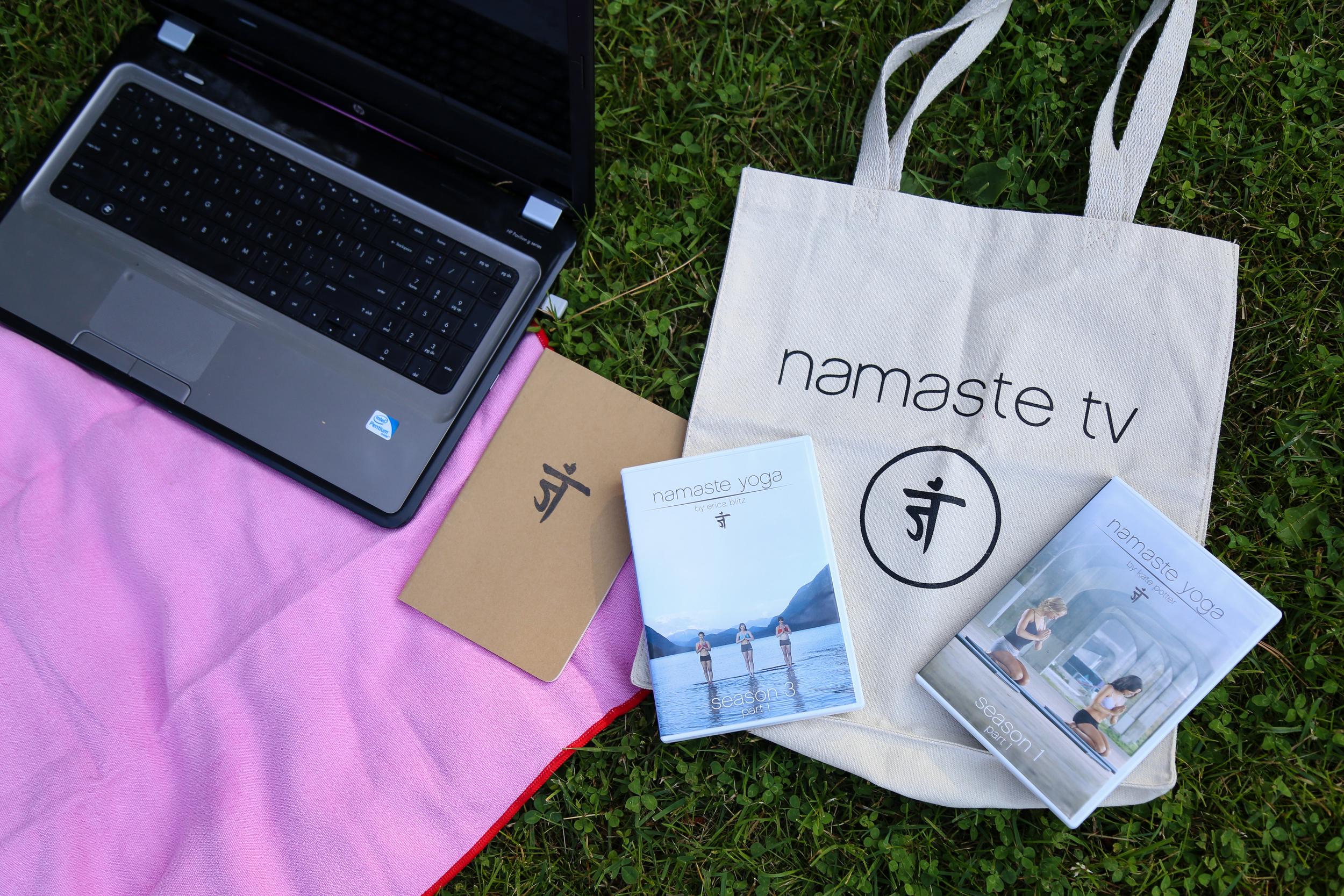 Namaste Yoga + Moms Bundle- Enchanting Elegance