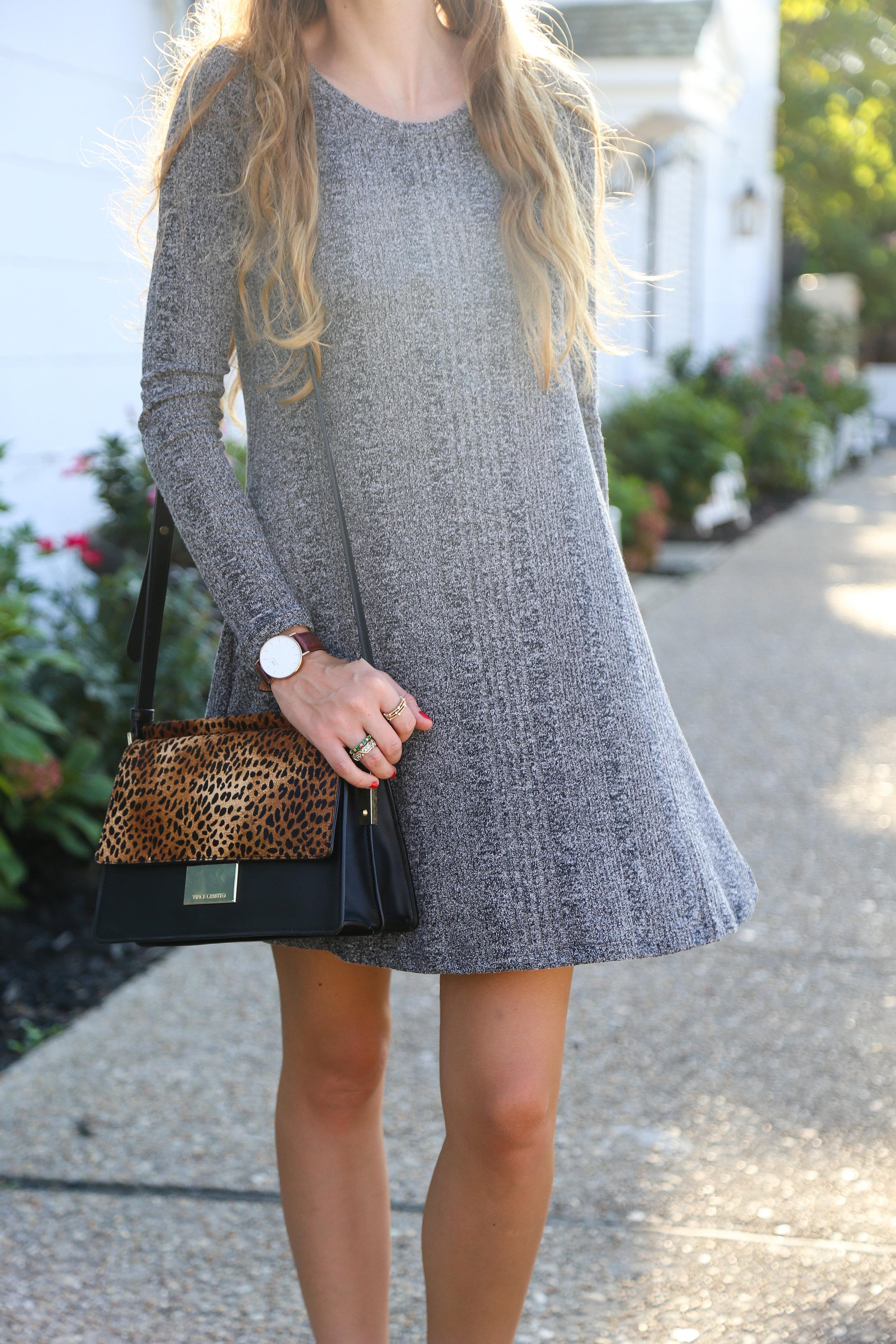 Little Gray Dress- Enchanting Elegance
