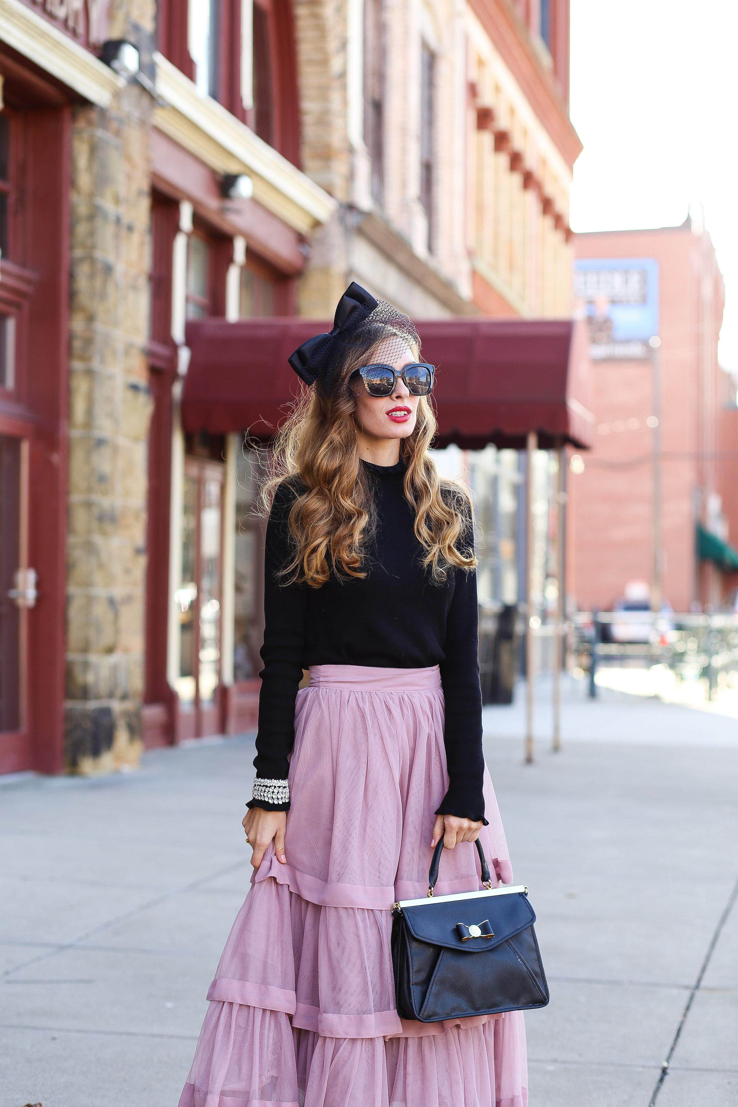 Pink Frills- Enchanting Elegance