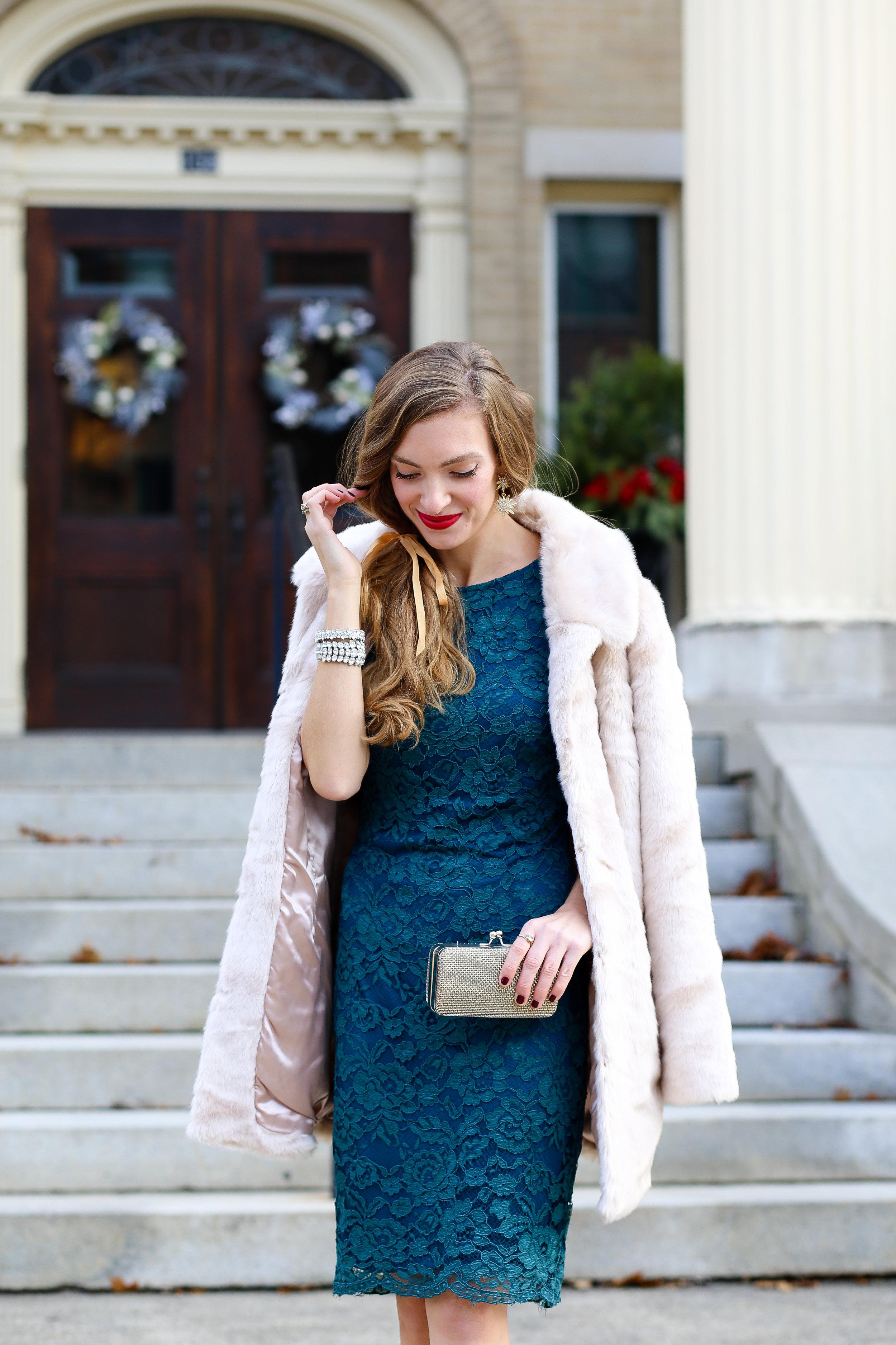The Green Dress- Enchanting Elegance