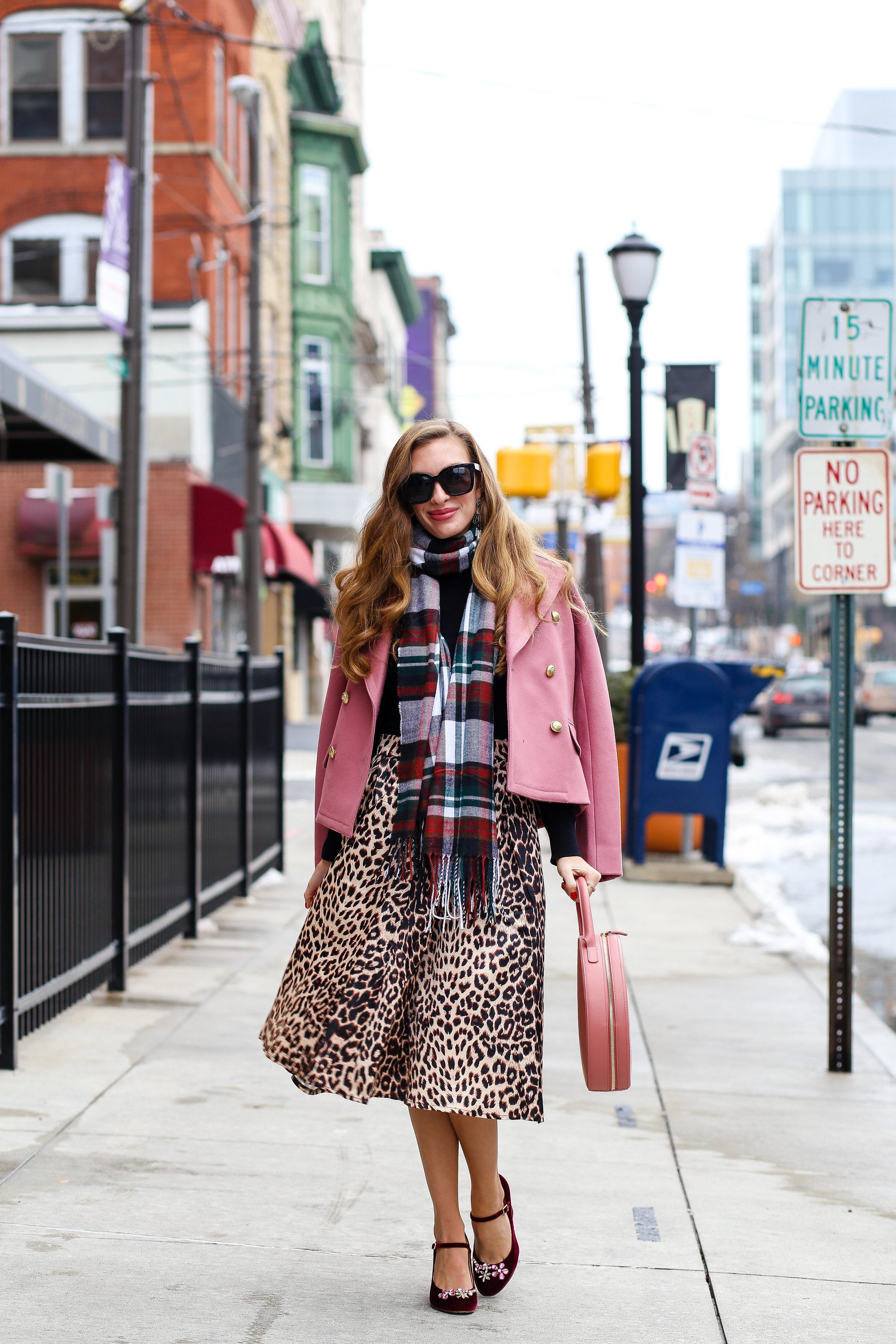 Leopard & Blush- Enchanting Elegance