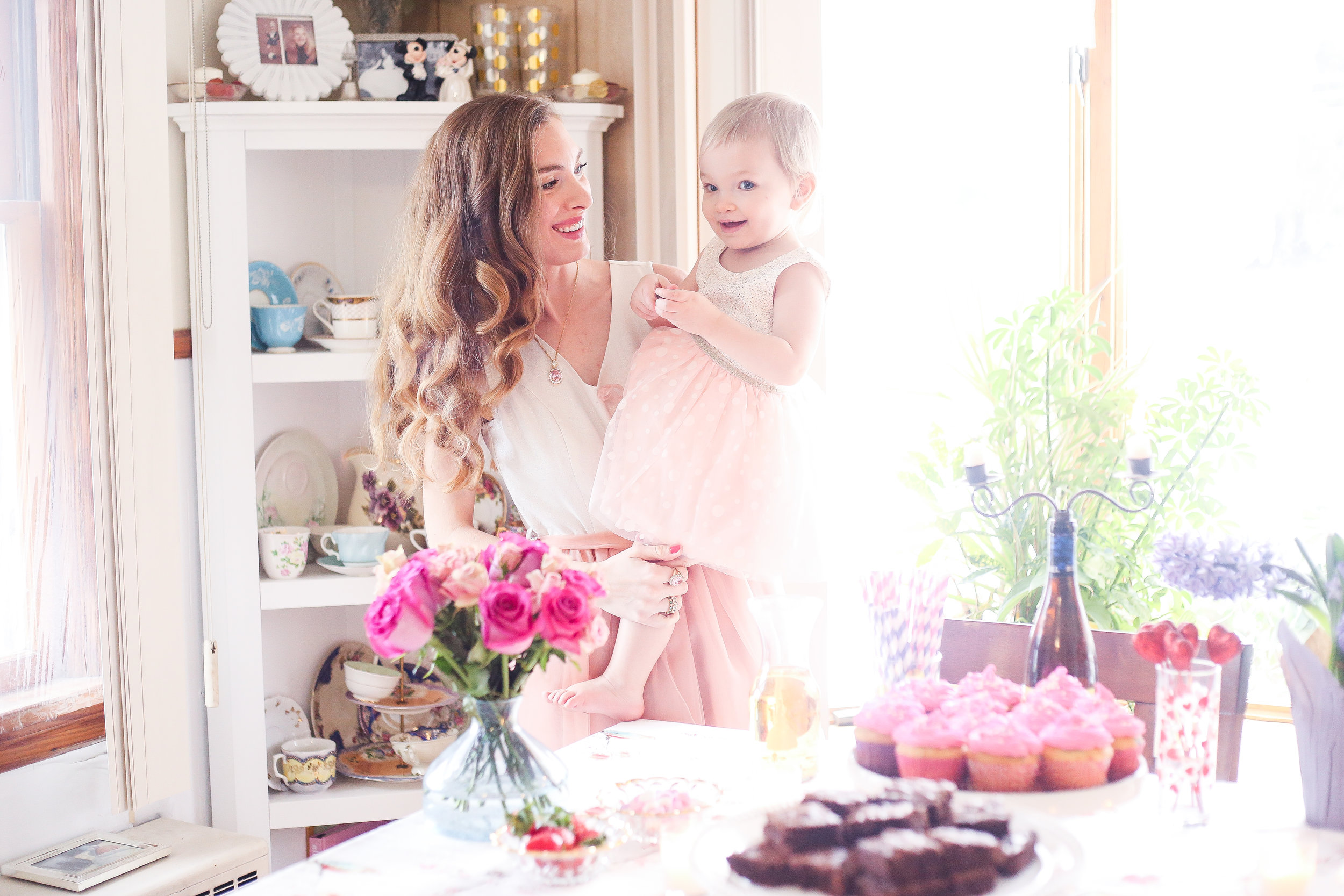 Mommy And Me Valentine's Day- Enchanting Elegance