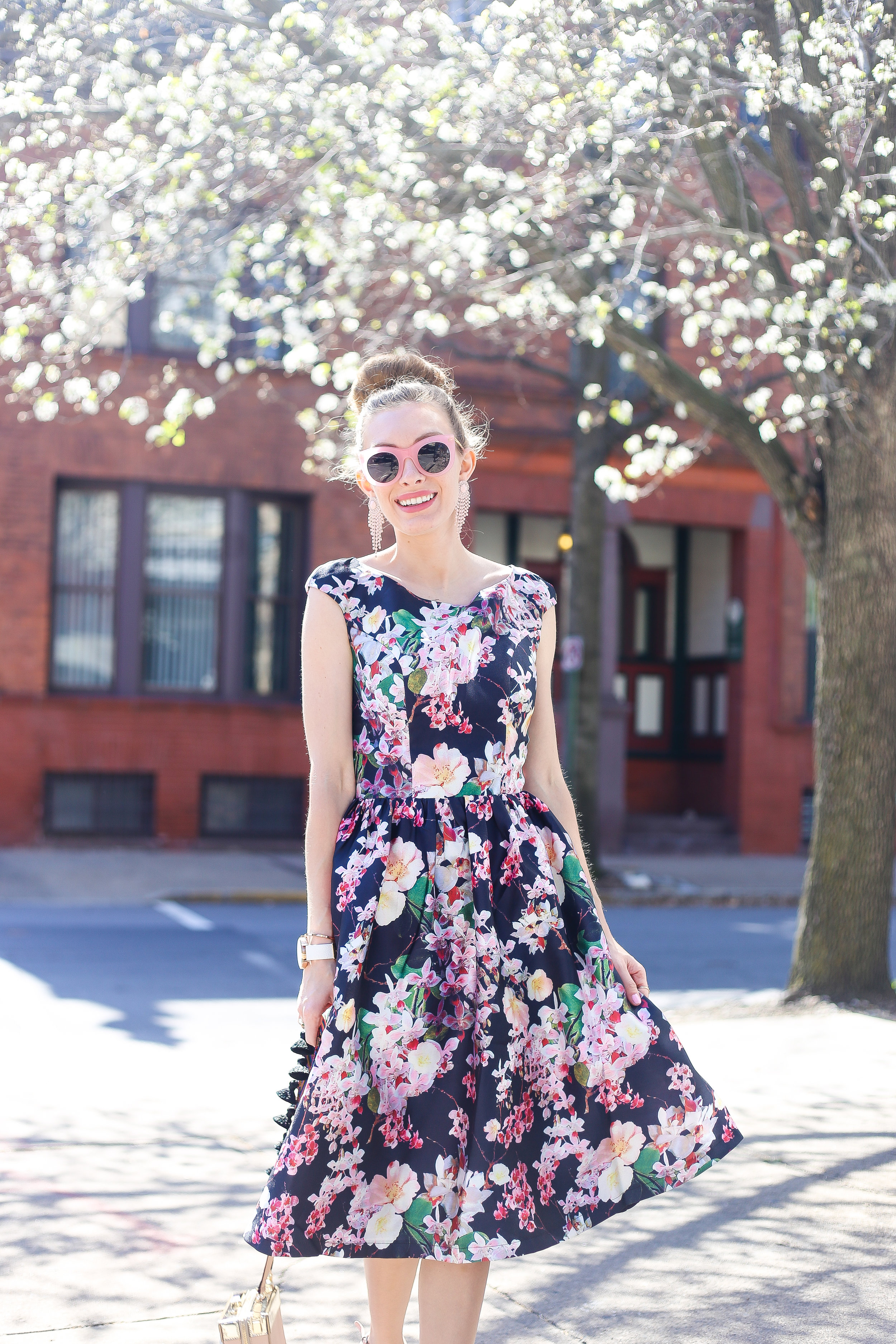 Dark Florals In Spring- Enchanting Elegance