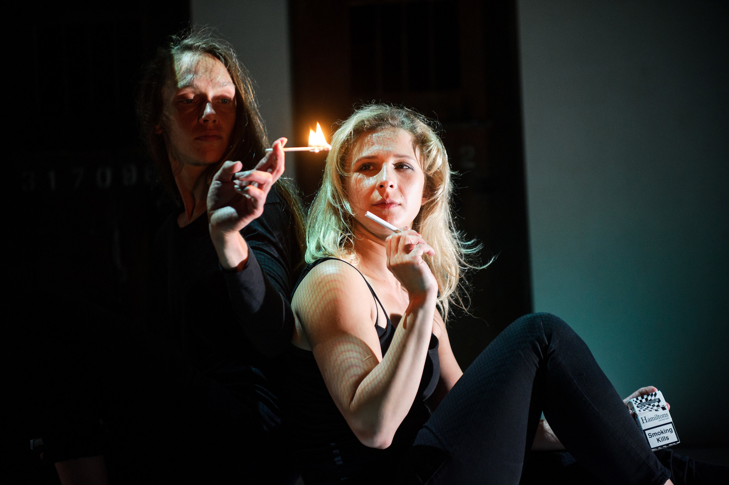 (c) Alex Brenner, Belarus Free Theatre - Burning Doors. Maryia Sazonava and Maria Alyokhina..jpg