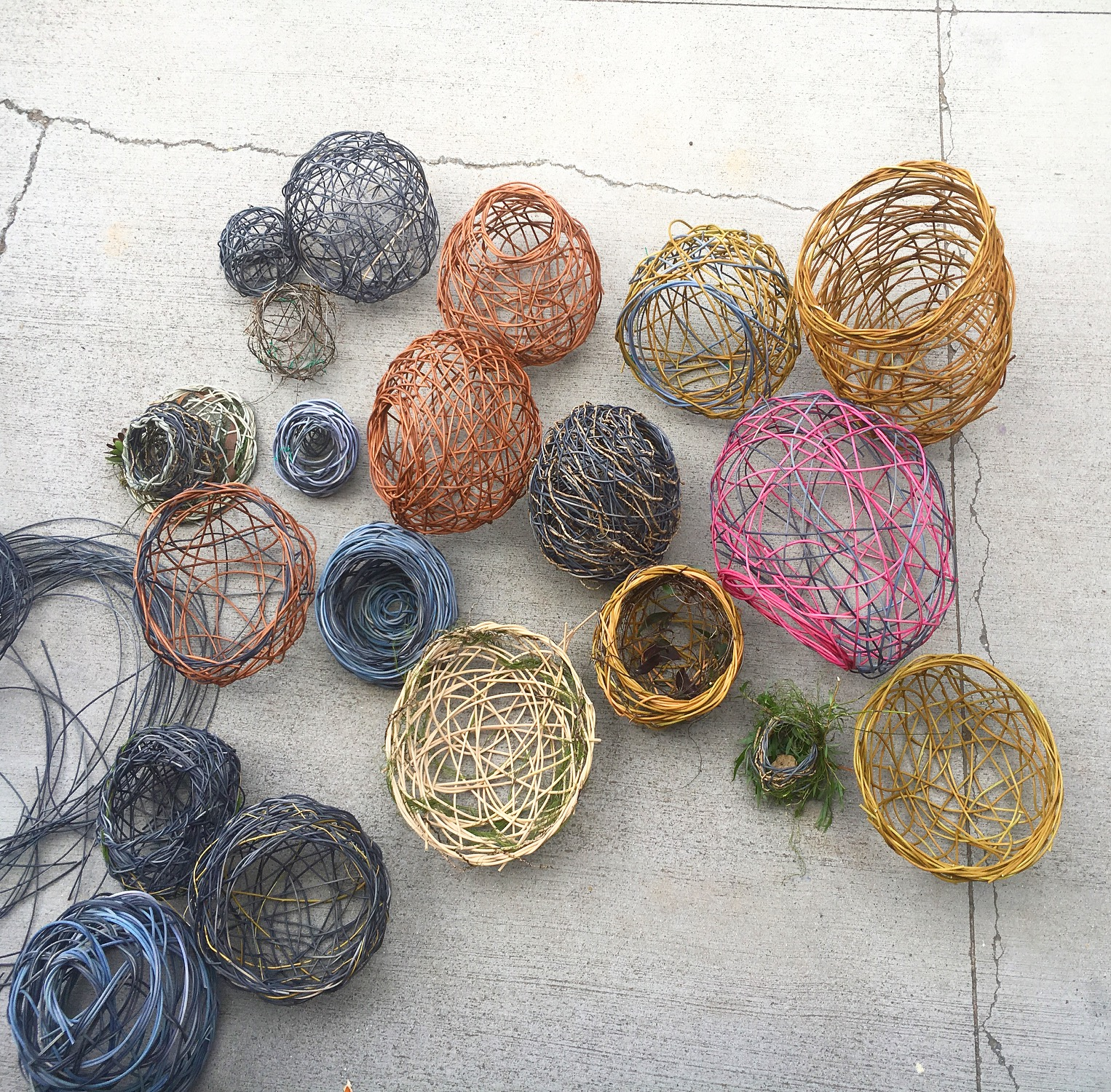 Random Weave Basketry - My Rural Retreat - Guyra NSW