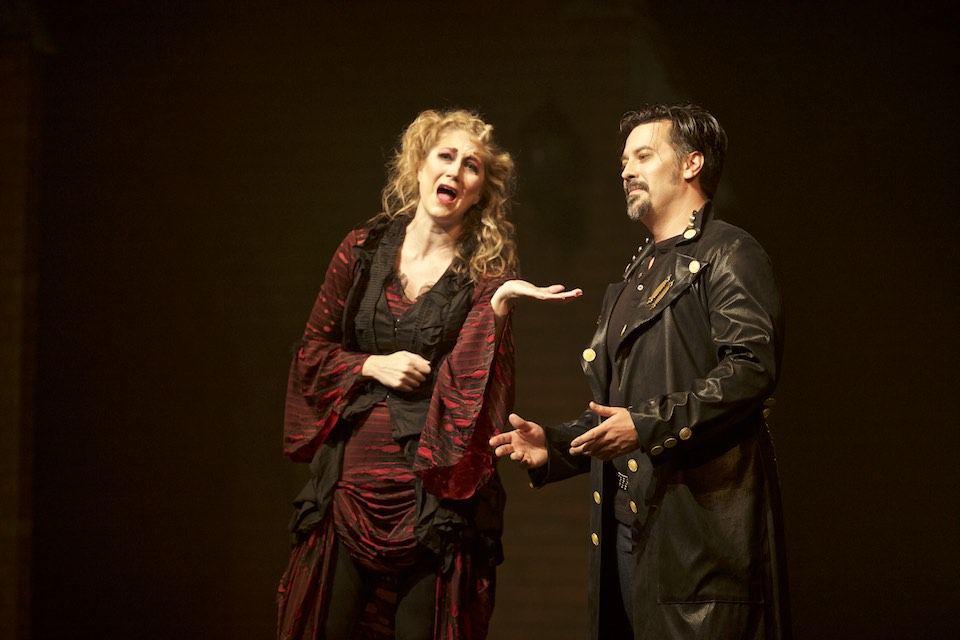 With Corey Crider as Sweeney Todd