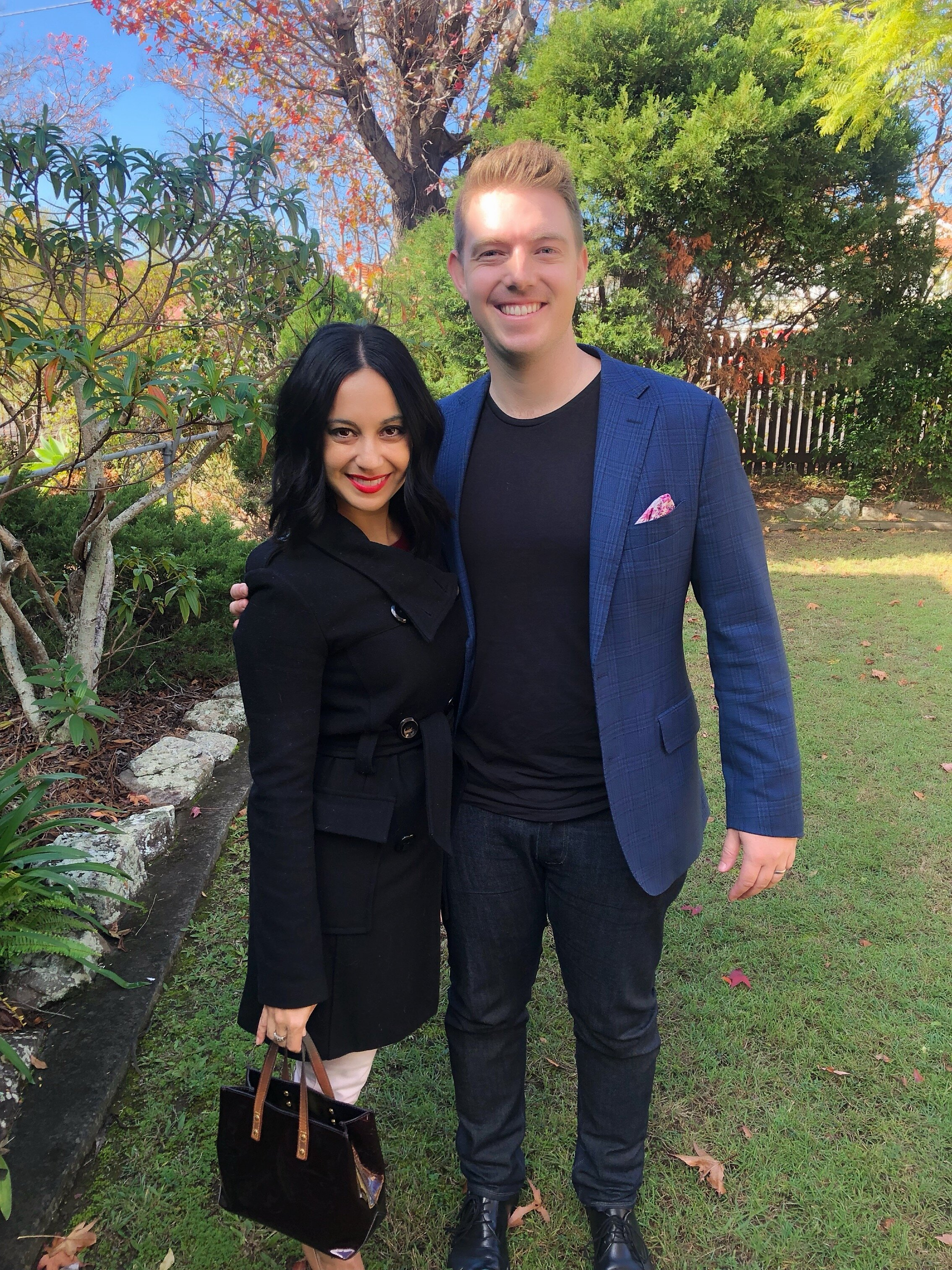 Wendy pictured with Jordan McLennan of Style Estate Agents in Clayfield.