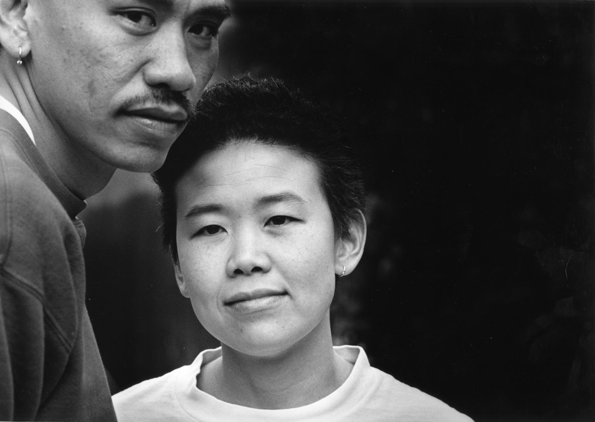 Brother and sister: Rafael and Ana Chang, 1993