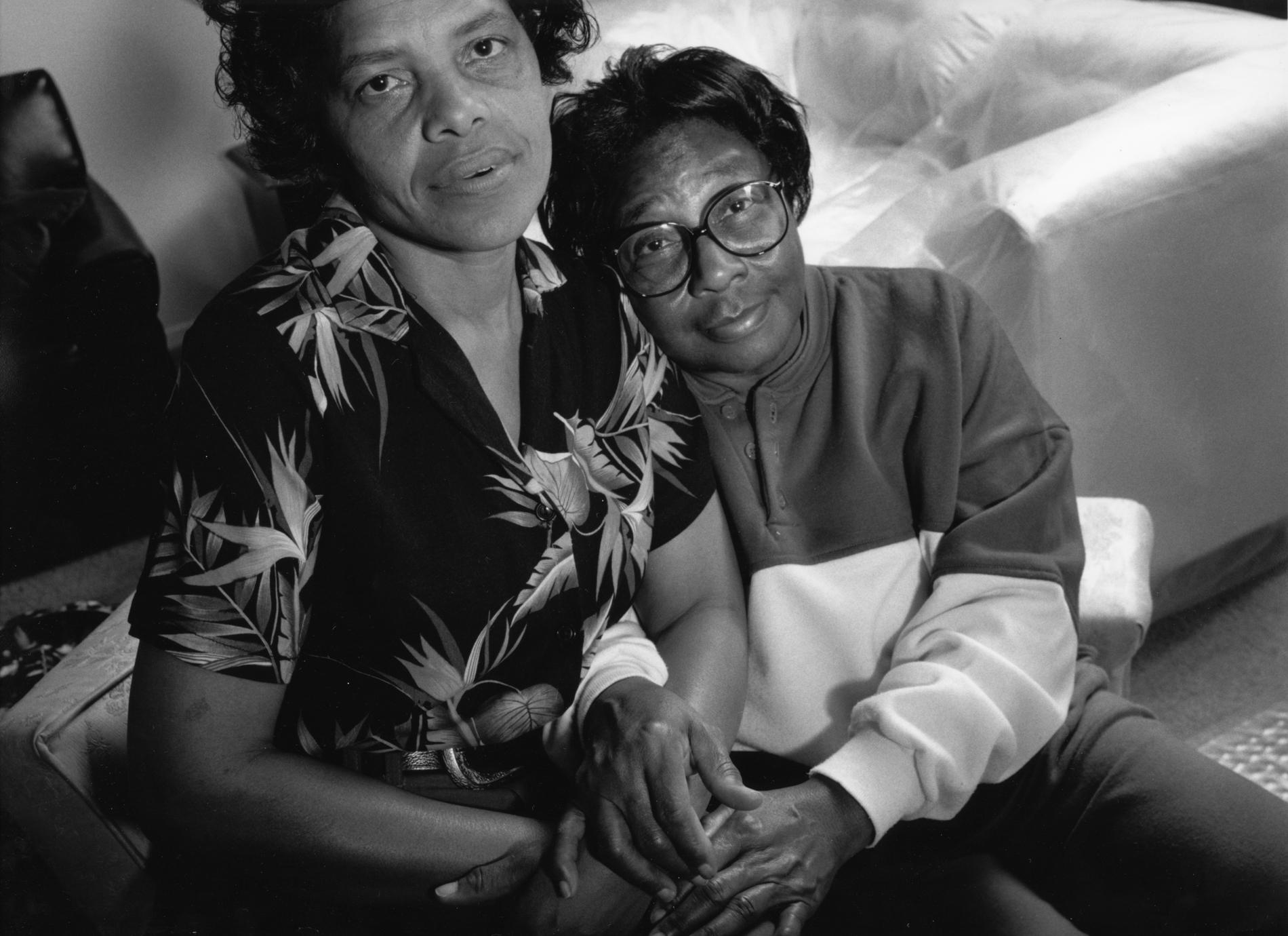 Kate and Seleta, Mississippi, 1993