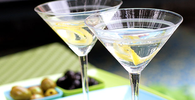 Excuse me. There's a lemon in my martini