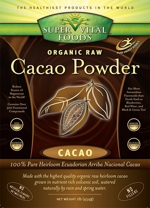 Raw Cacao Powder 1 Lb