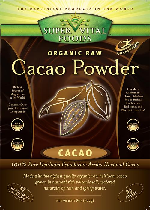 Raw Cacao Powder 8 oz