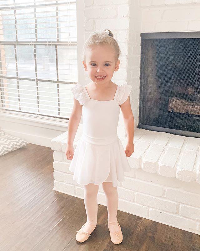 First ballet class.