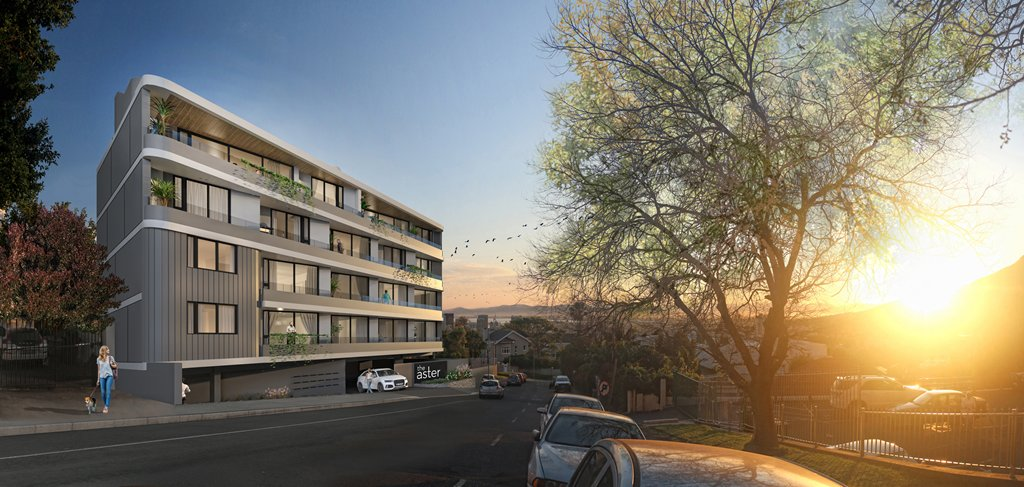 The Aster has been launched! An apartment building with 21 units in Oranjezicht. An amazing site with incredible views of the city and surrounding table mountain.   http://horizoncapital.co.za/property/the-aster/