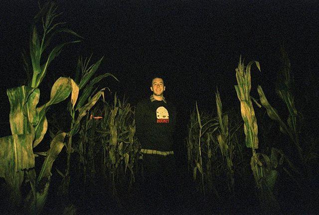 Me at haunted house! #corn #korn #cjorn