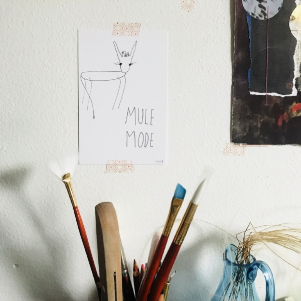 ^ picture of my studio wall