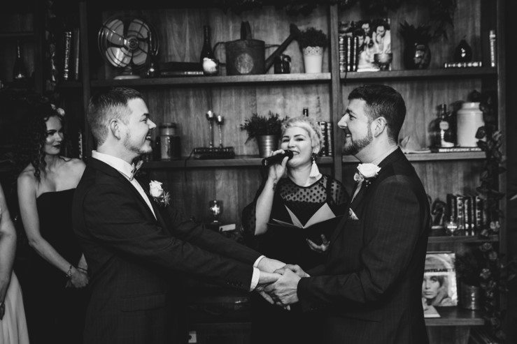 Chris & Matt by  Lucas Krause Photography