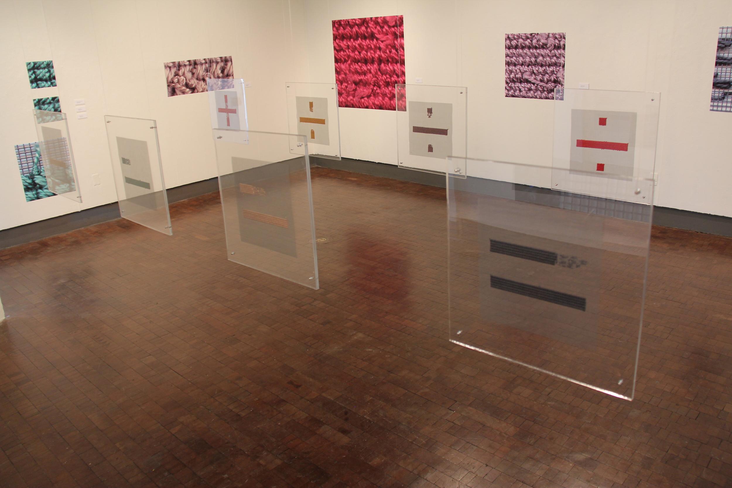 Even-weave Installation, 2014
