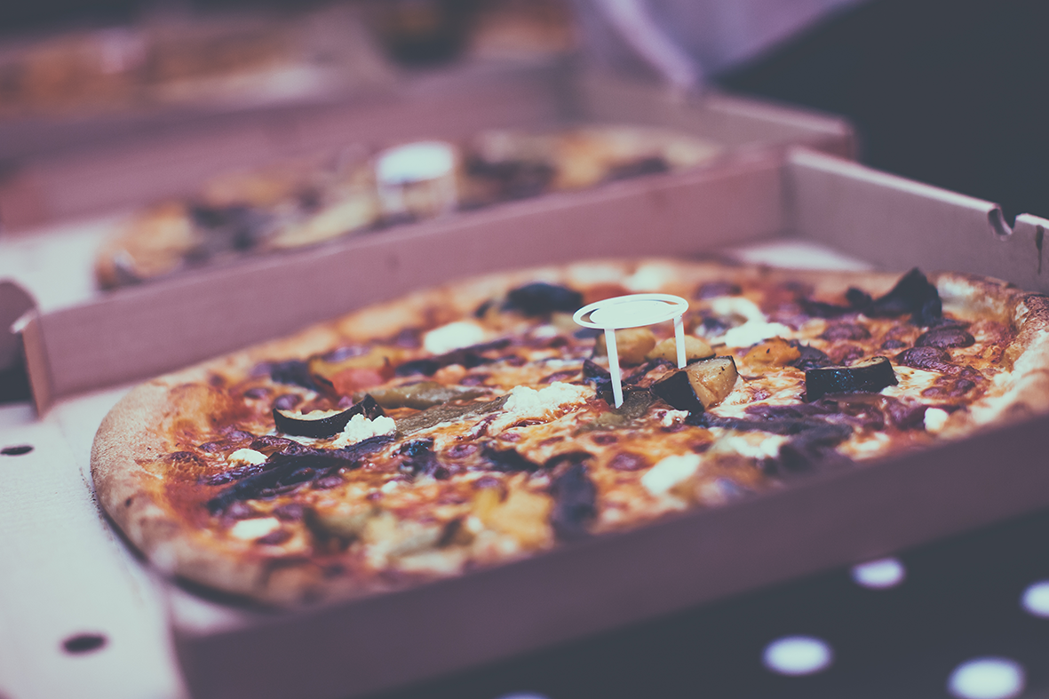 That pizza!
