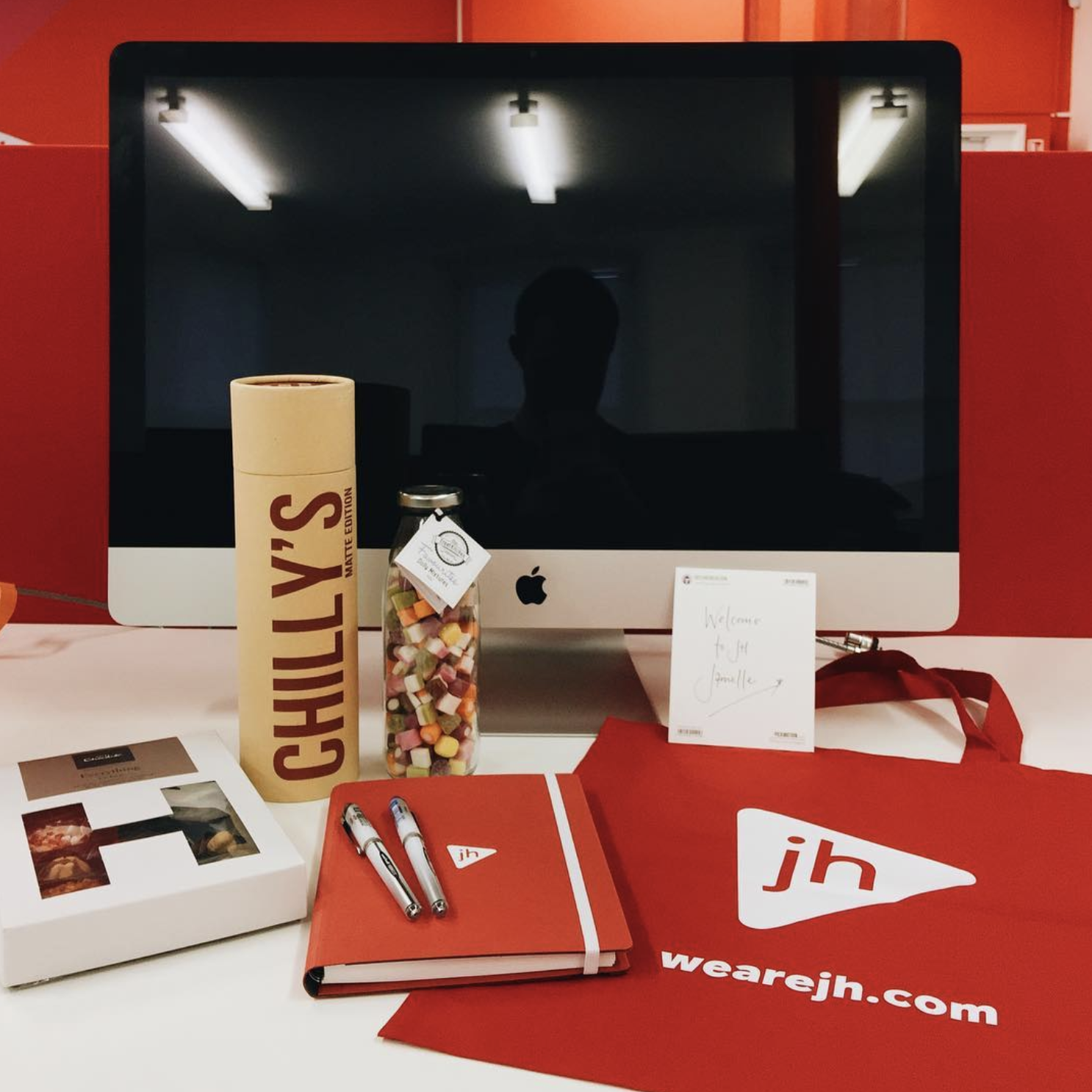 The JH welcome pack for new starters!