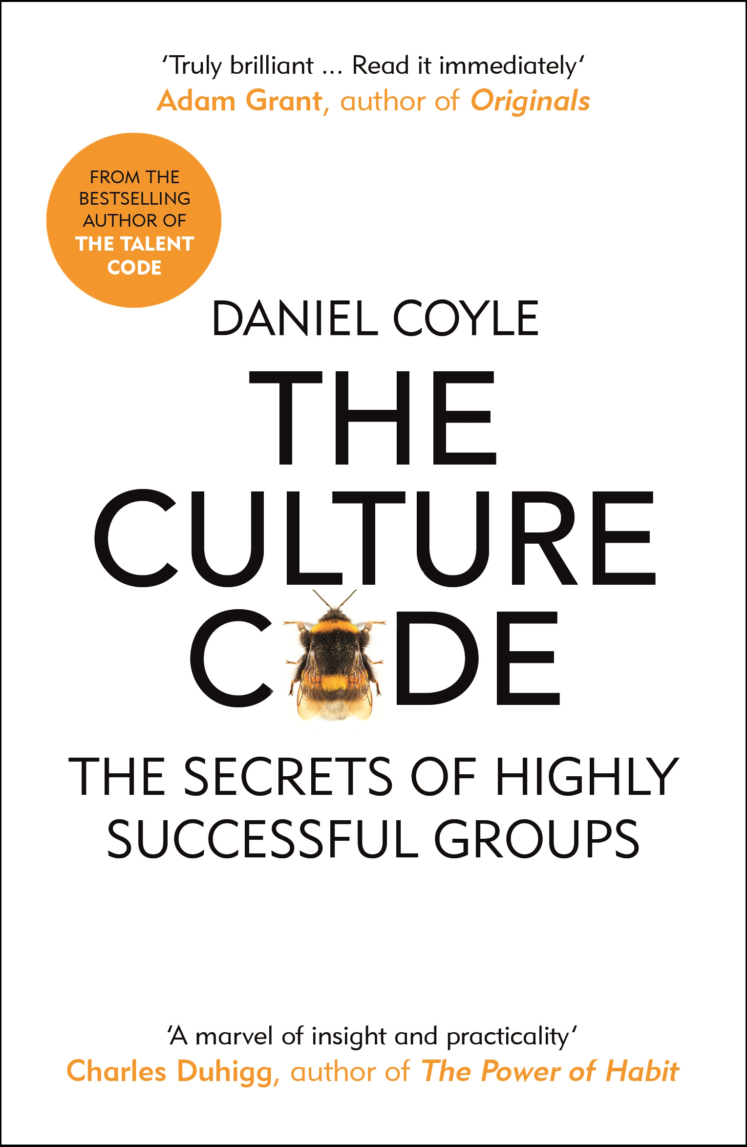 Front cover of The Culture Code by Daniel Coyle