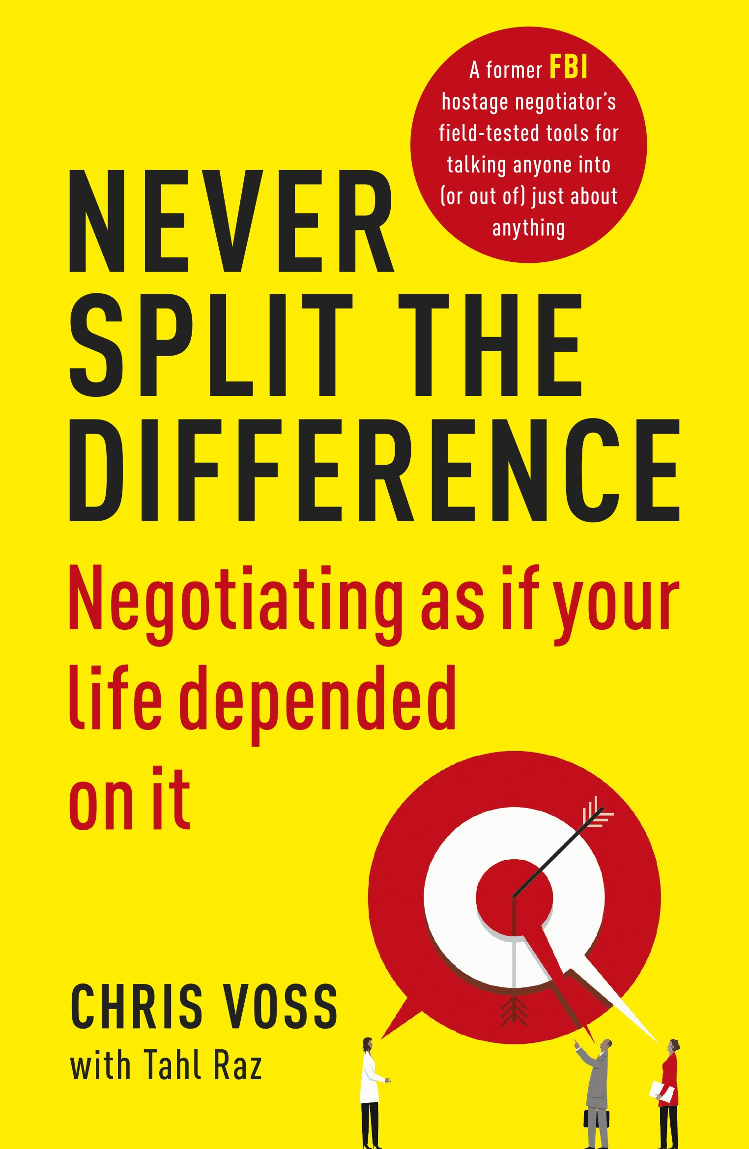 Image of the front cover of the book Never Split the Difference