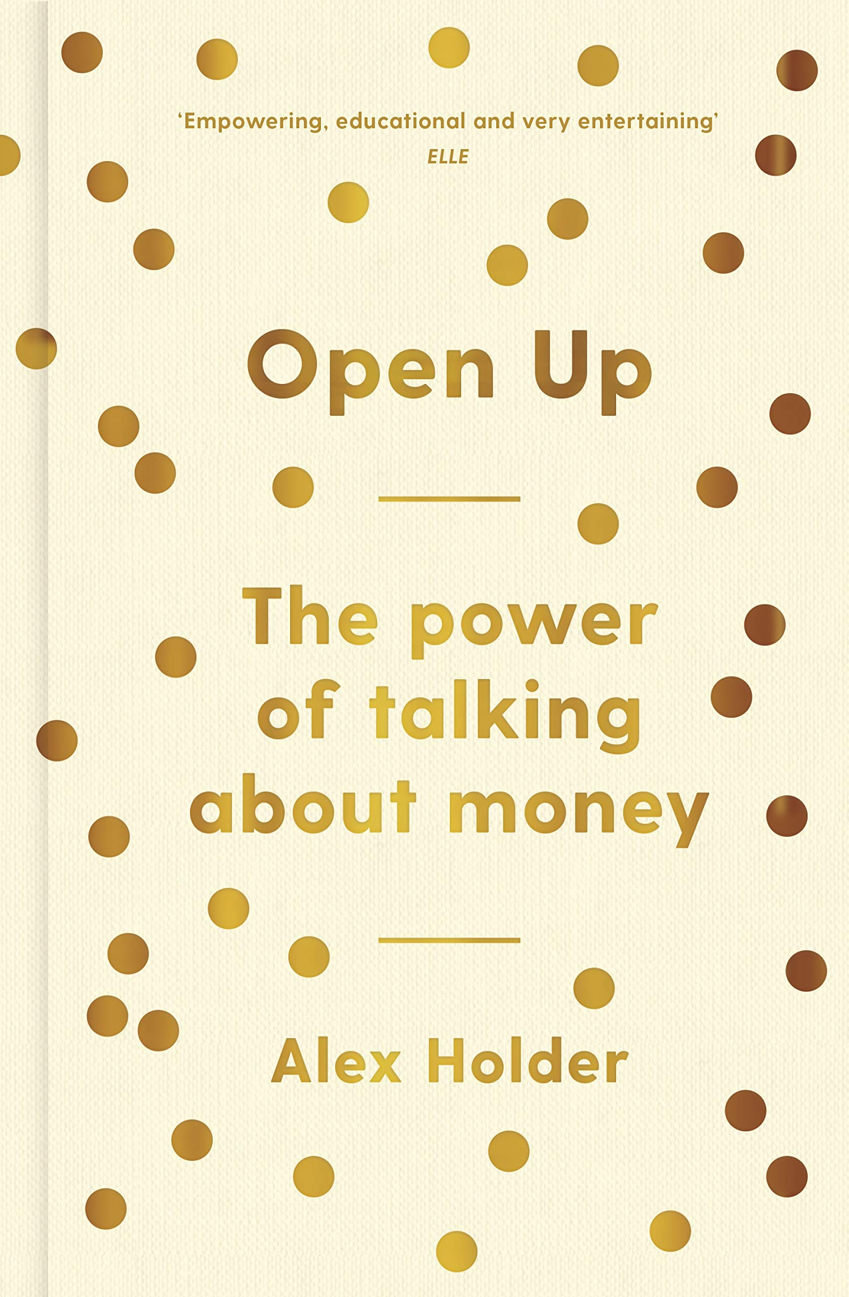 Image of the front cover of the book Open Up