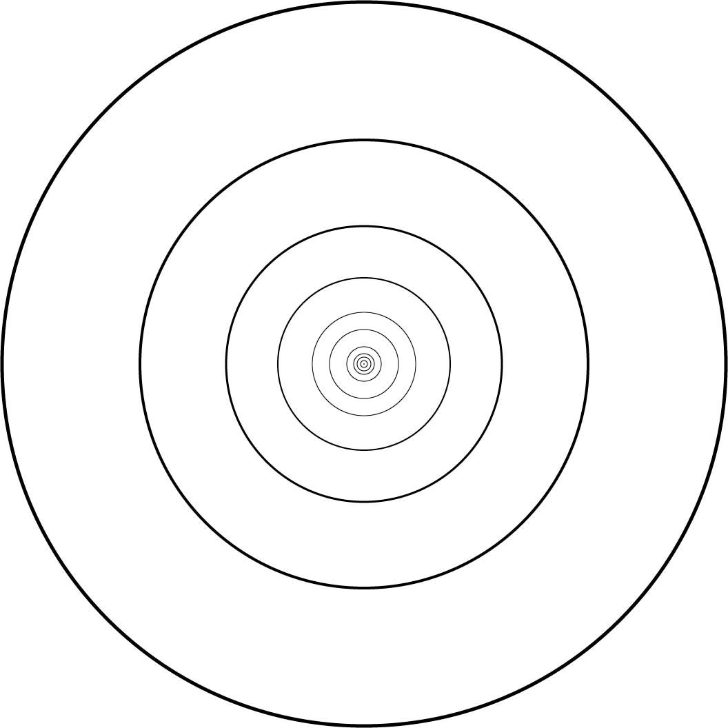 Nested Concentric Circles
