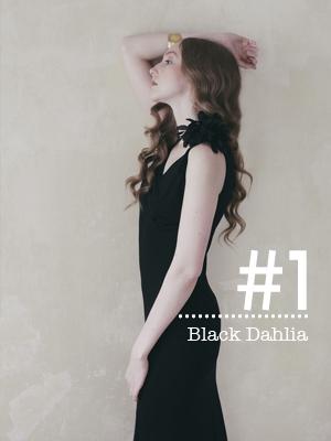 series #1  Replicated 1930's  Day - Evening Dress  Black Dahlia     89€     shop & details >
