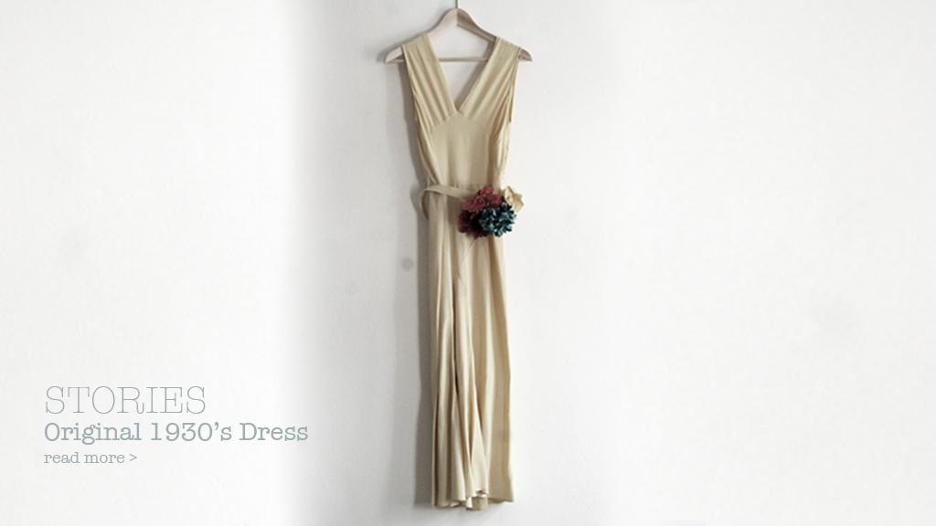 Story#1: Original 1930's Dress
