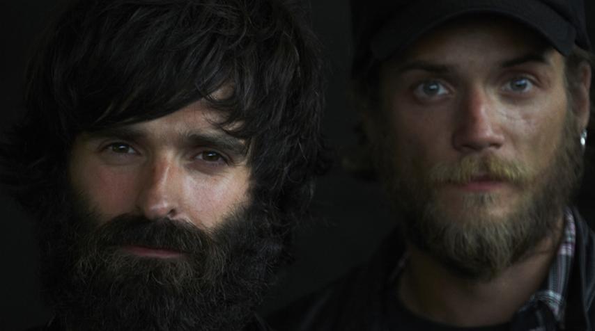 """Fred & Hugo, """"full screen"""" and """"full beard"""" :)"""
