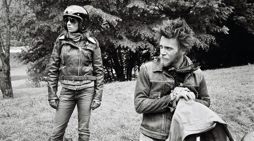 "Agnès and Hugo... waiting for the ""go""."