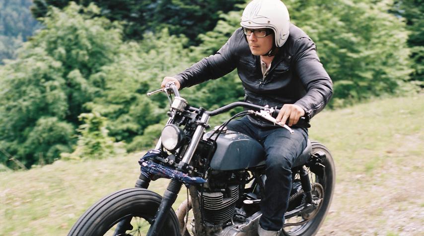 """""""Full throttle"""": Seb's religion."""