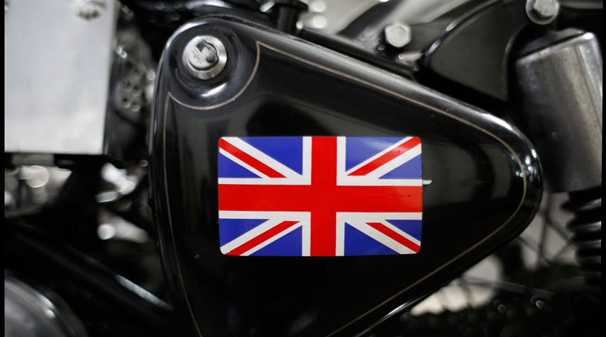 Made in Great Britain. God Save the Queen!