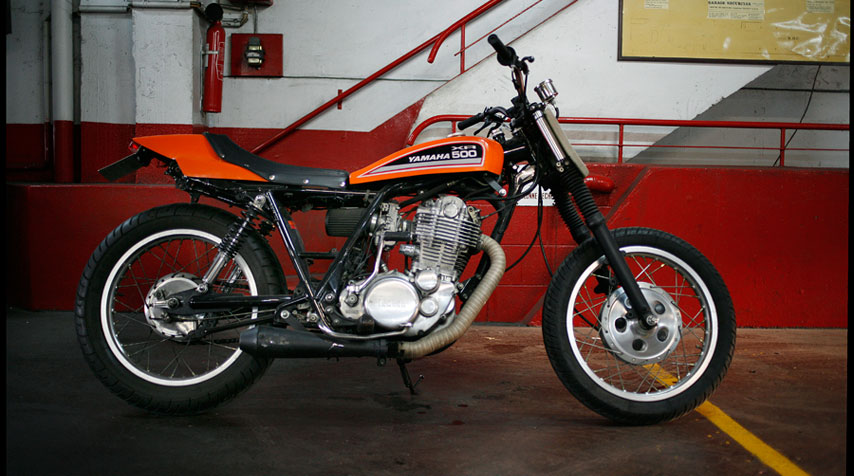 Inspired by the famous dirt tracker Harley Davidson XR 750.