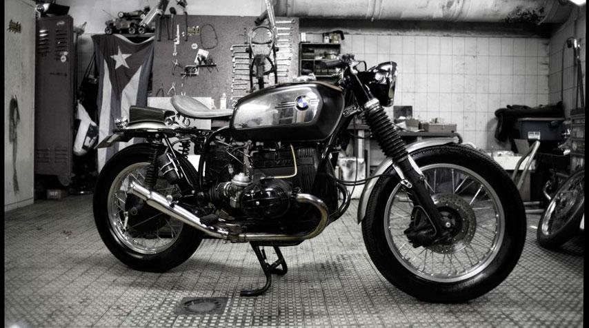 1960's British Café Racer inspired BMW R80/7