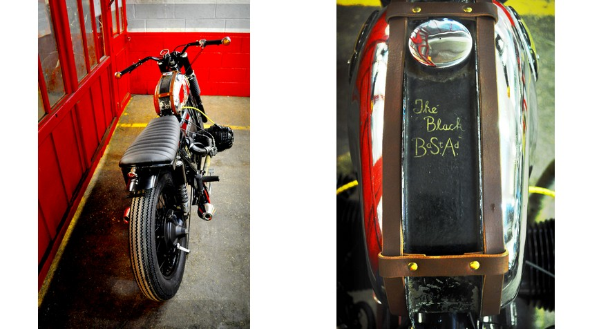 Believe it or not: this text was coming along with the BSA tank.