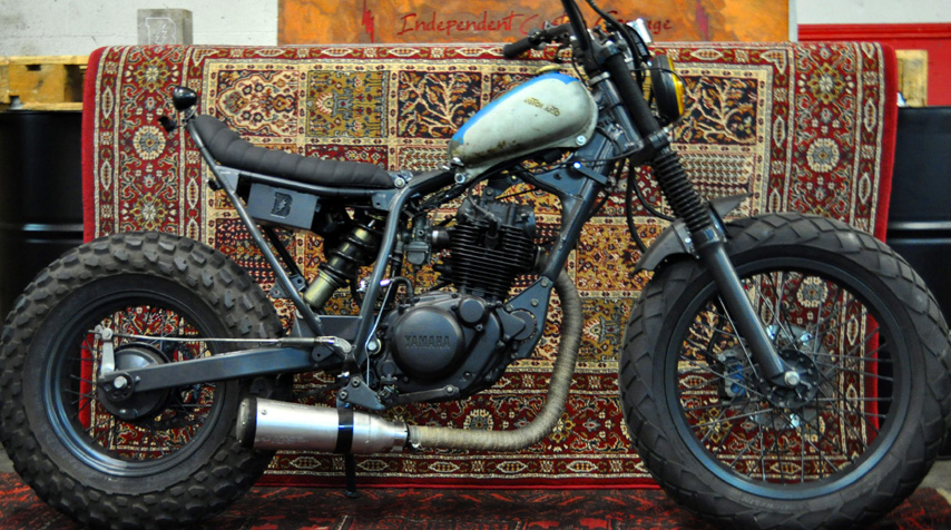"""- bespoke """"electric box"""" welded to the frame; - bespoke seat designed to perfectly match the newly designed subframe."""