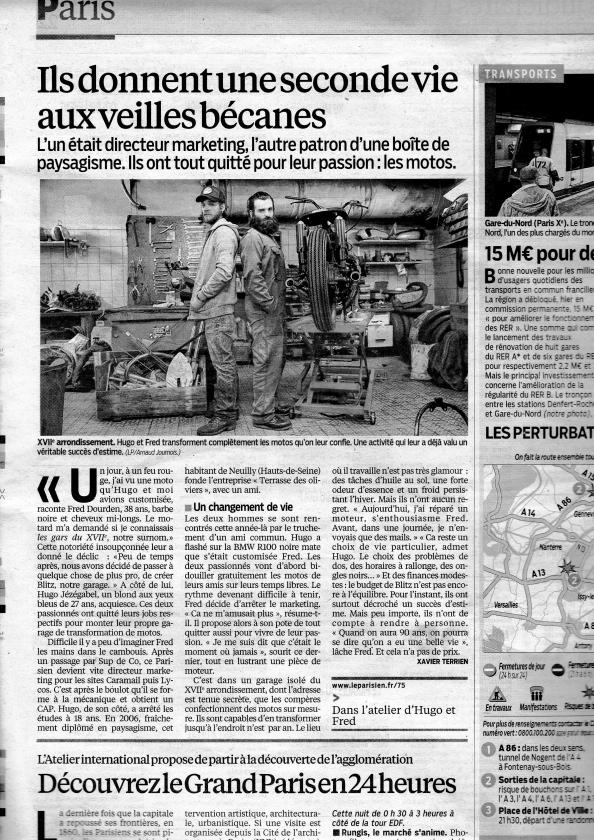 Le Parisien September 2013