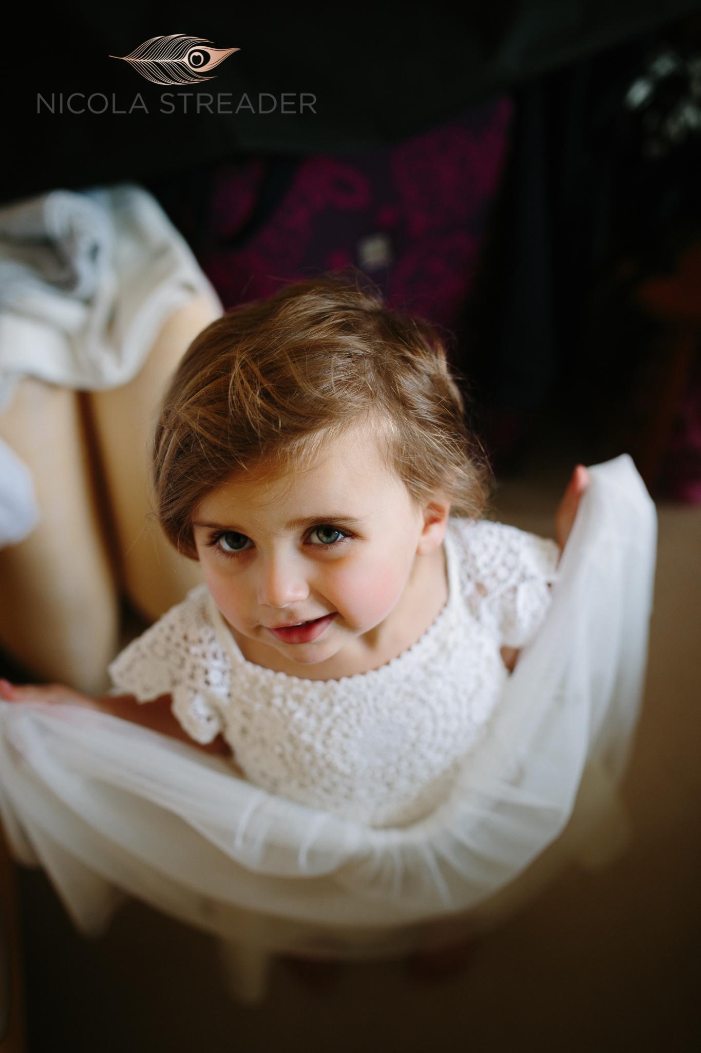 daughter bridesmaid