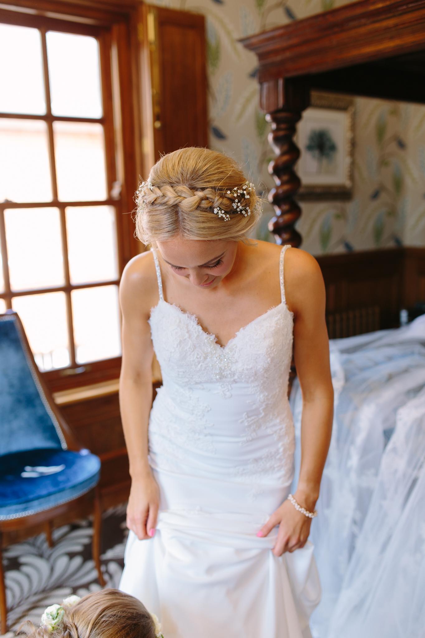 st patrick wedding dress real