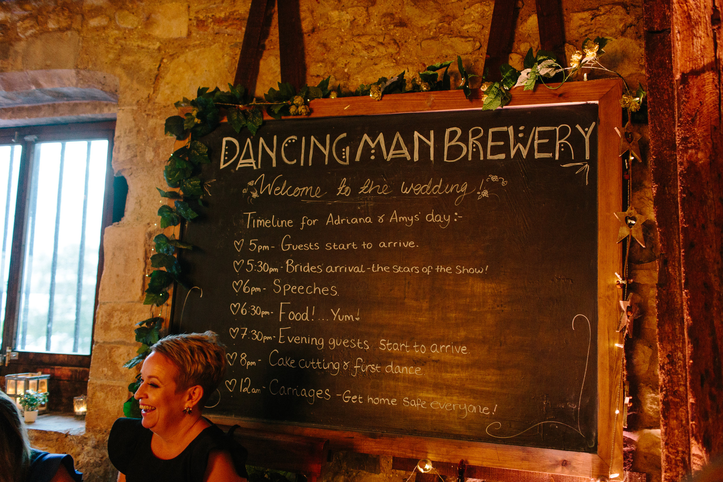 Dancing Man Brewery Wedding