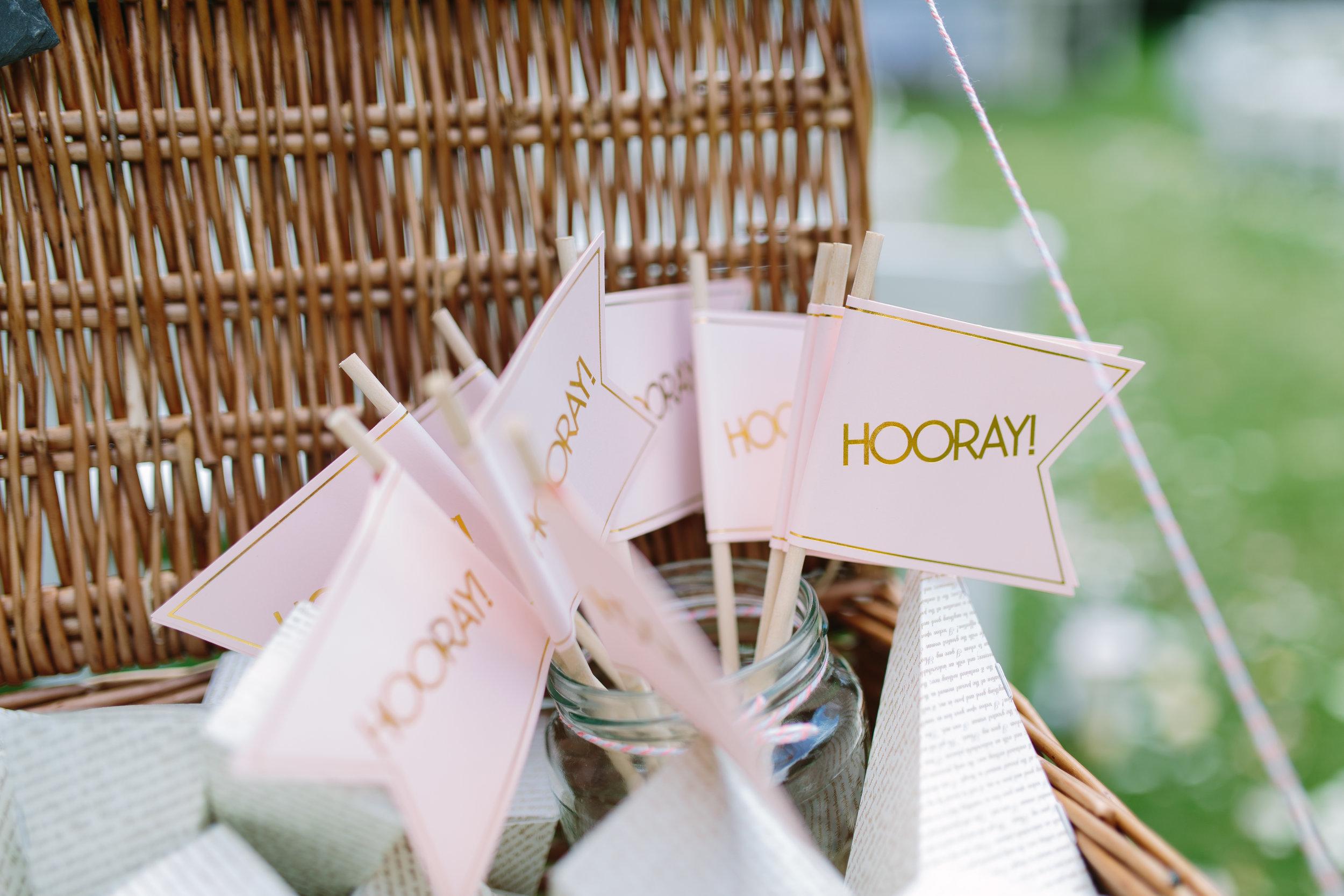 wedding hooray